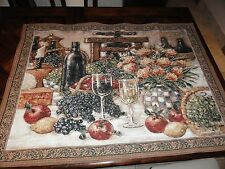 """""""Table for Two"""" Wall Tapestry- 53.5"""" x 39"""" from Riddle Home & Gift made in USA"""
