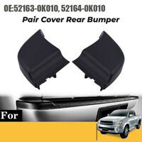Rear Bumper End Plate Corner Cap Trim Fit for Toyota Hilux Vigo 2004-2015 5 D7Q1
