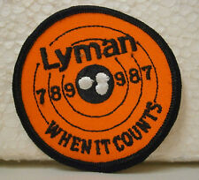 Lyman Embroidered Patch .