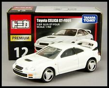 TOMICA PREMIUM 12 TOYOTA CELICA GT-FOUR 1/62 TOMY DIECAST CAR