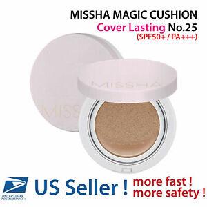 MISSHA MAGIC CUSHION Cover Lasting No.25 (Warm Beige) - US SELLER -