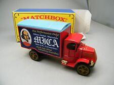 Matchbox MoY C2 Y-30 Mack AC 16th MICA 2001 Shakespeare selten OVP K13