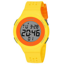 SYNOKE Multi-function Sports Waterproof Watch LED Digital Double Action Watches Green
