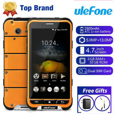 Ulefone Armor IP68 Rugged  4G 3GB+32GB Smartphone Dual SIM Android Cell Phone US
