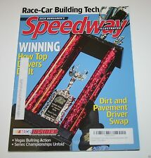 Speedway Illustrated Magazine - November 2007 - Race Car Building Tech