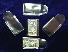 5 1 oz Silver Bar NEW Premium Vinyl Flips Sleeves Holders. FREE U.S. shipping!!
