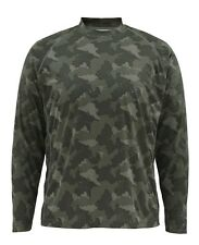 Simms SOLARFLEX Long Sleeve Crewneck ~ NEW Simms Camo ~ Small ~ CLOSEOUT