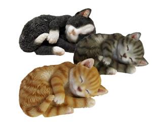 Esschert Deko schlafende Katze Garten Figur Frost+ UV fest  3 Modelle 37000448