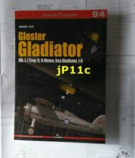 Gloster Gladiator Mk. I, I Trop, II, II Meteo, Sea Gladiator, J-8 - KAGERO N*E*W