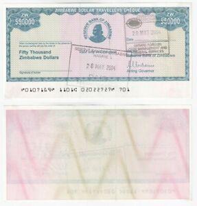 ZIMBABWE 50,000 Dollars Emergency currency note (2003) P.19 - UNC.