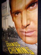 LES GRANDS CHEMINS !  hossein anouk aimee  jean giono  affiche cinema 1963