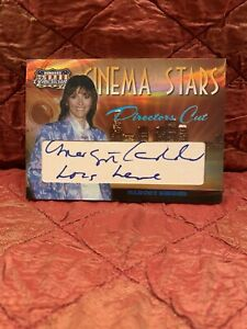 2008 Donruss Americana CINEMA STARS MARGOT KIDDER LOIS LANE CUT Auto Autograph