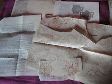 Vtg 1940s Mail Order Transfers #4266 Part Cut Butterflies Dutch Girl Variety
