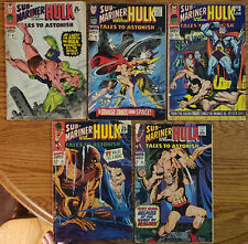 Lot of 5 Tales to Astonish Marvel Silver Age comics #'s 87 88 90 92 94 from 1967