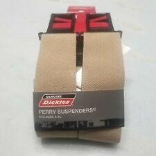 NEW Dickies Perry Adjustable Suspenders - Khaki