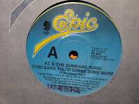 """K.C. &  the Sunshine Band """"(You Said) You'd Gimme Some More"""" 1982 Oz 7"""" 45rpm"""