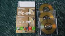MemorexRW 6 paquet  2 sind verschweißt, neu, 4  1x bespielt, zu verkaufen!