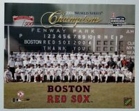 Boston Red Sox 2004 World Series Champions Team Photo 16x20 Large LTD Ed Pic MLB
