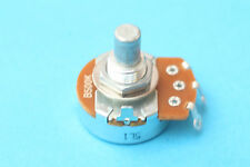 Potenciómetro Alpha Lineal B500 Amplificador 500 K's Potentiometer Solid Shaft