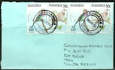 Namibia Cover - Eenhana 10.09.2003 Palmtaube Gabelracke