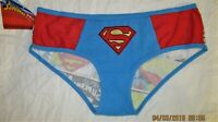 Superman women's DC Comics underwear panties XS S M XL