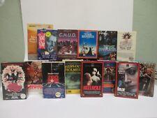 LOT of 15 BETA TAPES-Horror Cult Betamax-CHUD, Hellhole, Barbarella, David Bowie