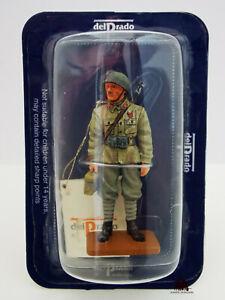 Figurine Collection Del Prado Caporal Italien Bersagliers 1944 Lead Soldier