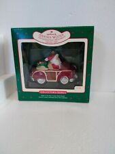 "Hallmark Keepsake Ornament ""Santa'S Woody"" #9 Collector's Series 1987 New"