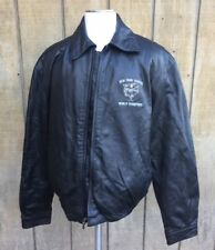 NY Yankees 2000 World Series Champions GEAR Leather Jacket - XXL