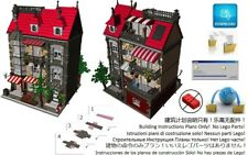 Lego Cake Dessert Shop Instructions Modular Custom Building Design City Town