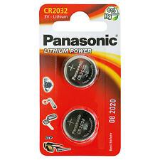 Panasonic 2Pcs - 3 V Lithium-Ion Coin Cell Blister-Pack Battery CR2032
