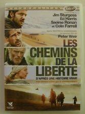 DVD LES CHEMINS DE LA LIBERTE - Jim STURGESS / Ed HARRIS - Peter WEIR - 8 PHOTOS