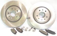 Powerstop Performance Front Brake Rotor Pad Set For Cadillac CTS 2006 2007