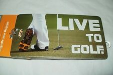 3 NEW - Live To Golf - Lewis n Clark - Luggage / Bags Tag Identification FREE SH