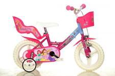"""Dino Disney Princess Pink Kids Girls Bike Bicycle 12"""" Mag EVA Wheel 124RL-PSS"""