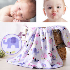 Newborn baby blanket kids thick cotton cashmere blanket infant travel blankets