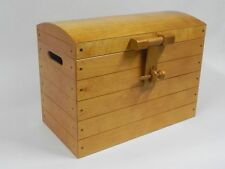 Wooden Chest Trunk Beding Toy Box Bed Furniture Wood Ottoman Basket Brown 2 XXL