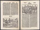 1497 Treviso Aquileia Italia Italy Schedel Inkunabel Incunable Holzschnitt