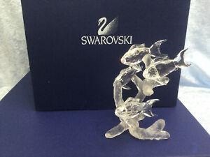 Swarovski School of Fish - 7644 000 014 / 666 355. Retired 2006. MINT w/box