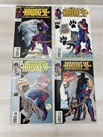 Marvel Comics Hawkeye 1-4 Complete Set 1 2 3 4 Marvel Comics 1994 (HE02)