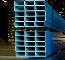 150mm x 50mm x 5mm Blue Mild Steel Rectangle Hollow Section RHS - Per Metre