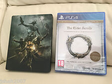 The Elder Scrolls Online Tamriel Unlimited Steelbook Edition for PS4 NEW