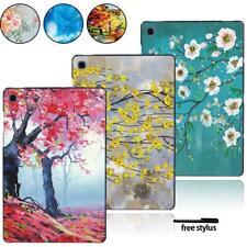"""Impresión de la tableta Duro Funda para Samsung Galaxy Tab A A6 7"""" 10""""/S5E + Pluma Tab E"""
