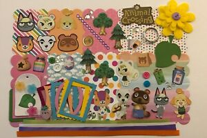 Animal Crossing Nintendo Switch Custom Chipboard Mini Book Album Kit Scrapbook