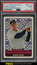 2017 Topps Heritage Performers Aaron Judge ROOKIE RC #RP-AJ PSA 9 MINT (PWCC)