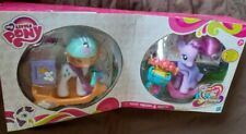 My Little Pony Scooter Friends Daisy Dreams & Rarity RARE 2012 MIB MLP FIM G4