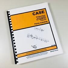 J I CASE 35 BACKHOE & LOADER FOR 580CK - B TRACTOR PARTS CATALOG MANUAL NO.1151