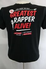 ROCOWEAR CLASSIC Greatest Rapper Alive! HIP HOP Graphic Design T Shirt L