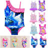 Kids Girls Unicorn Swimwear Bikini Bathing Suit Swimsuit Beach Swimming Costume