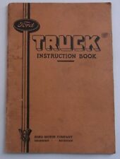 1935 Ford Truck Instruction Book Manual Brochure Original